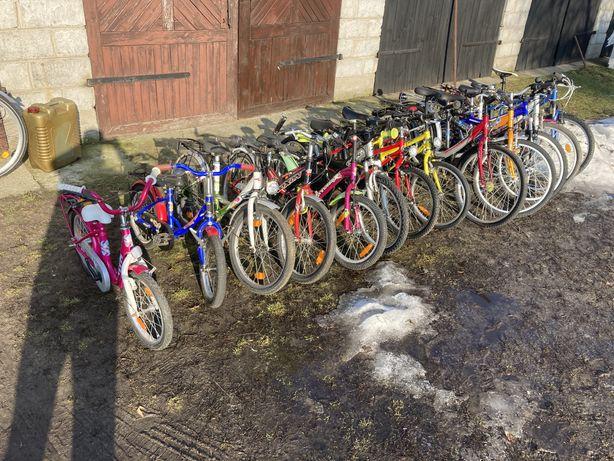 Pakiet rowerow dzieciecych z Niemiec