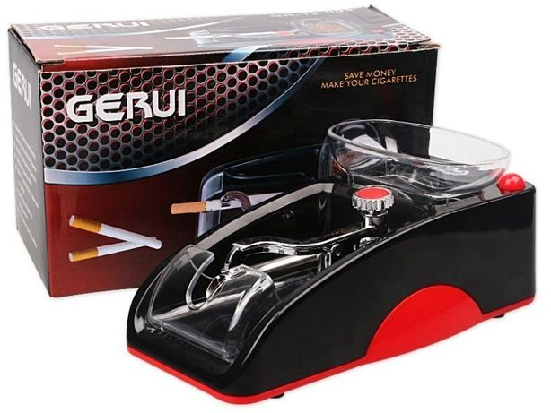 Gerui 6.5, 7мм слим электрическая машинка для набивки сигаретных гильз