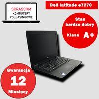 Laptop dotykowy Dell e7270 i5 8GB 120GB SSD Windows 10 GWAR 12msc