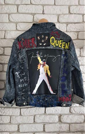 Freddie Mercury Queen kurtka hand made