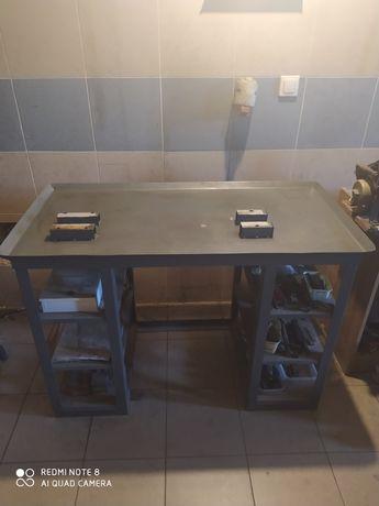 Stół warsztatowy pod tokarkę WARSZTAT Stolik MASYWNY