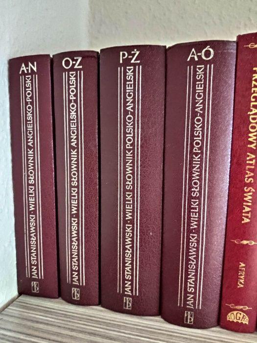 Wielki Słownik Polsko-Angielski oraz Angielsko-Polski 4 tomy Rydułtowy - image 1