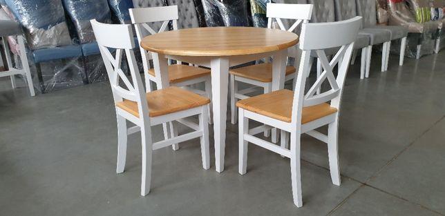 Krzesło prowansalskie Krzyż wygodne do kuchni restauracji Producent
