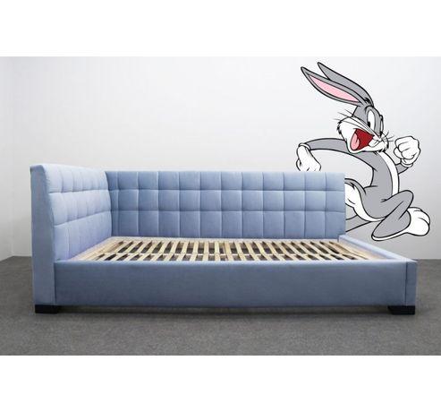 Кровать детская подростковая Лео Шик Галичина с мягкой спинкой