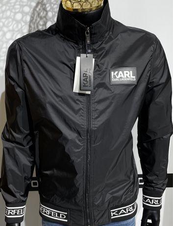New!!!стильна чоловіча вітровка Karl Lagerfeld(Карл)