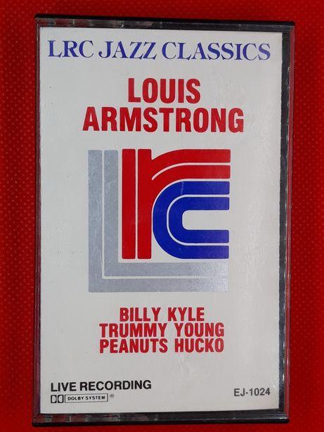 Kaseta Louis Armstrong LRC Jazz Classics Live Recording 1985r.