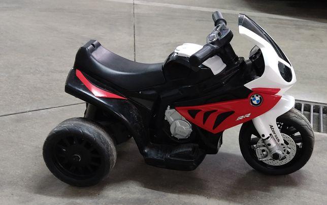 Mota elétrica BMW criança