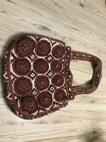 torebka ręcznie robiona