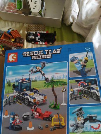 Лего набор машина эвакуатор