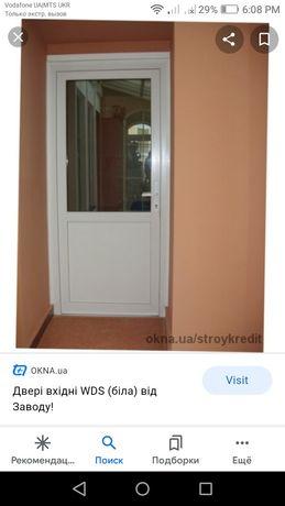 Двері вхідні нові