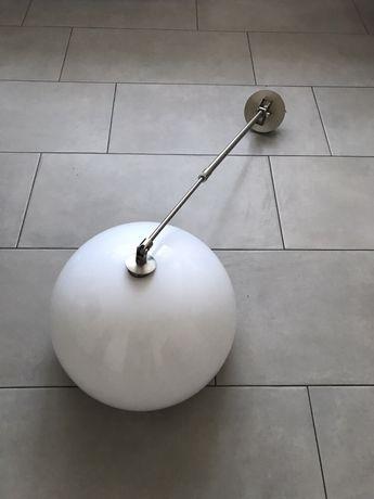 Bardzo duża wisząca lampa na bardzo długim wysięgniku