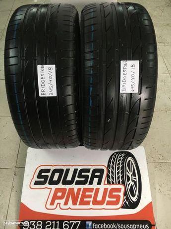 2 pneus Bridgestone 245/40/18 entrega gratis em sua casa