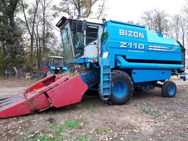 Комбайн Бизон Z110 Bizon +кукурузная жатка