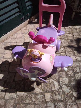 Brinquedo Carrinho avião de bebé