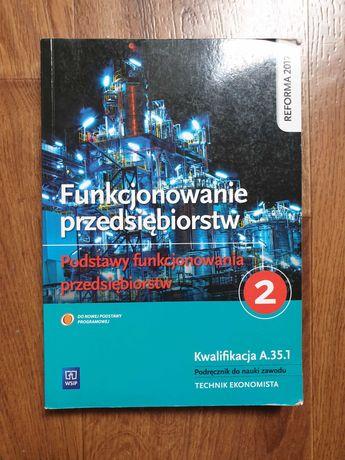 Funkcjonowanie przedsiębiorstw, podręcznik do nauki zawodu