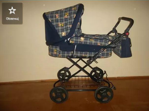 Wózek dziecięcy 2 w 1 gondola i spcerówka
