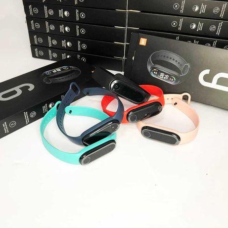 Фитнес браслет FitPro Smart Band M6 (смарт часы, пульсоксиметр, пульс)