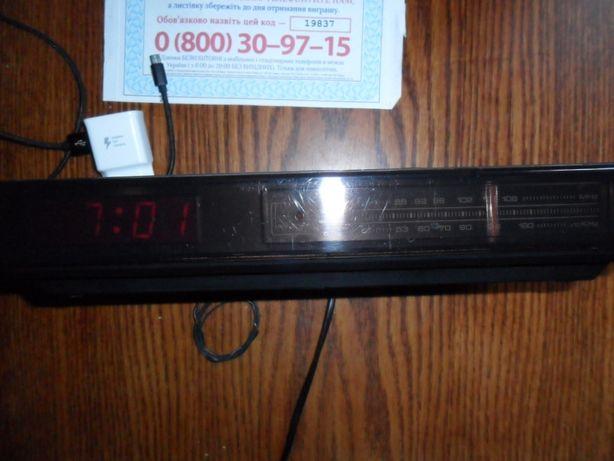 Часы приемник GOLDHAND E 468