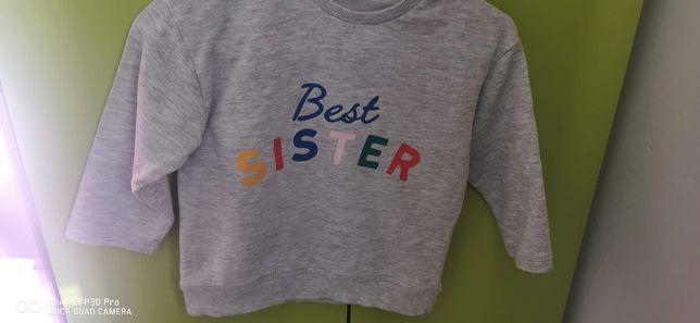 Bluza dla dziewczynki rodzeństwa