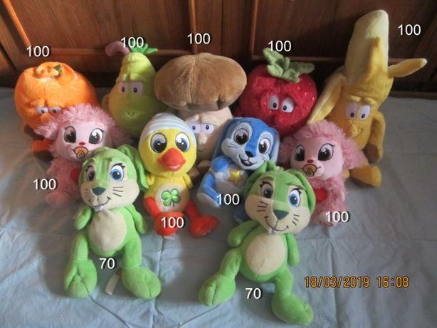 Мягкие и с Led -светящие игрушки Migros/из Финляндии
