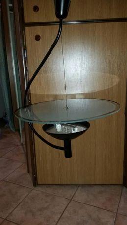 Lampa żyrandol halogenowy używany