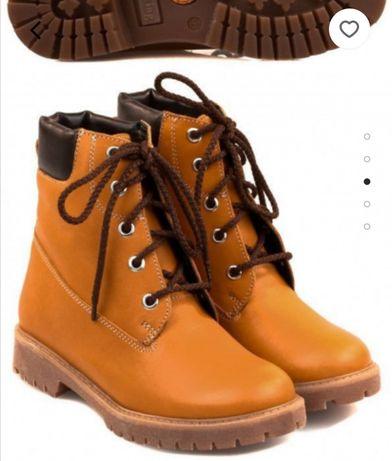 Продам ботиночки Braska по типу Тимберленд, полуботинки, демисезонные