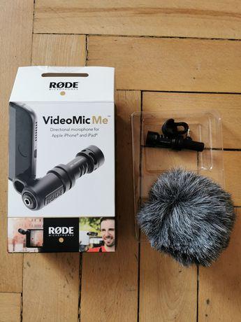 Mikrofon Rode video MIC ME iPhone iPad Android