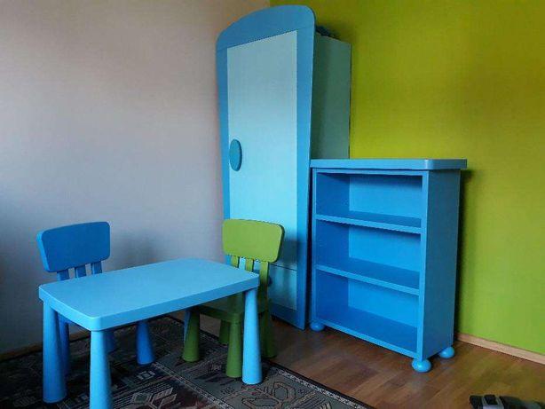 Meble dla dziecka chłopca IKEA MAMUT