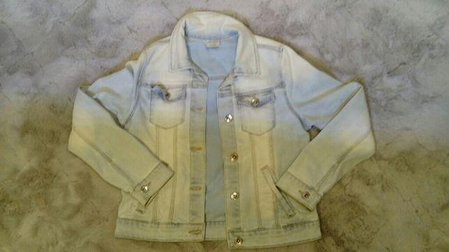 Kurtka dżinsowa jeans katana Zara 152