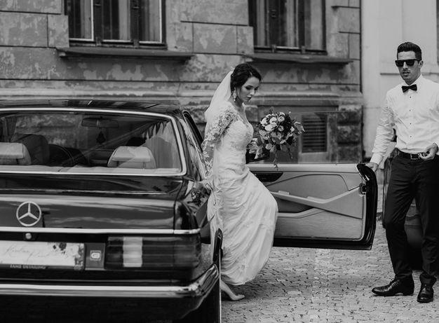 Prowadź SAM Mercedes SEC500 i bądź gangsta! Auto, samochód do ślubu!