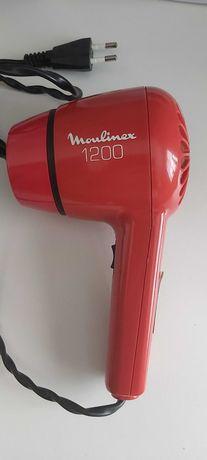 Secador de cabelo de viagem Moulinex com oferta de bolsa