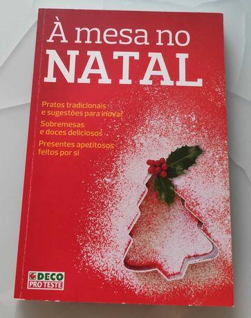 Livro À mesa no Natal