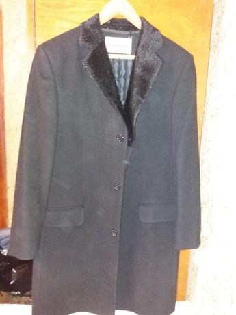 Продам мужское пальто шерстяное 52/176