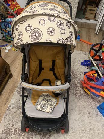 Прогулочная коляска BabyHit Racy Beige