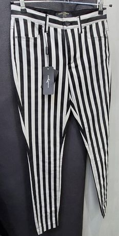 Dolce & gabbana black stripped pants