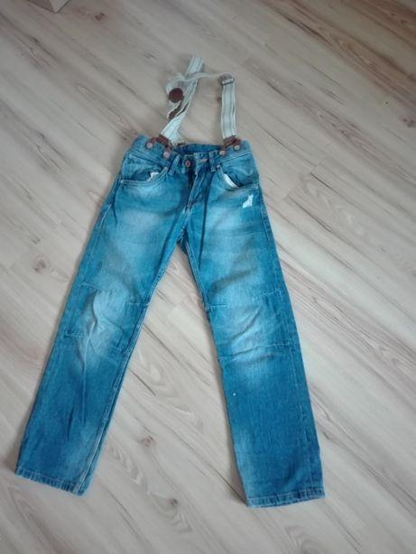 Spodnie chłopięce 140 cm H&M