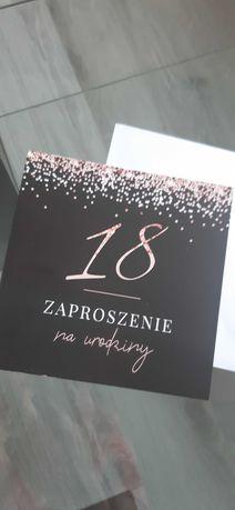 Zaproszenie  na 18 urodziny