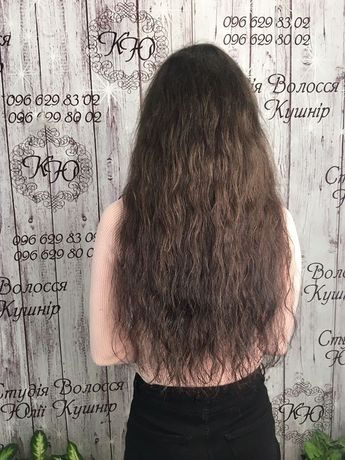 Волосся віп класу,натуральне хвилясте волосся