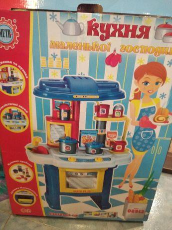 Продам нашу любимую детскую кухню со световыми и звуковыми эффектами
