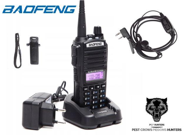 183 10 Krótkofalówka Baofeng UV-82 5 WAT + słuchawki