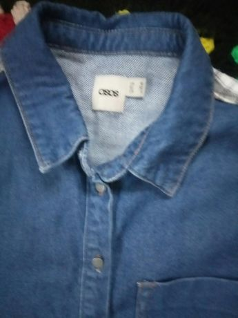 Koszula damska jeans asos roz 38
