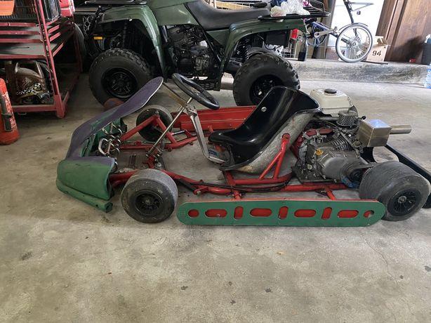 Karting com motor honda
