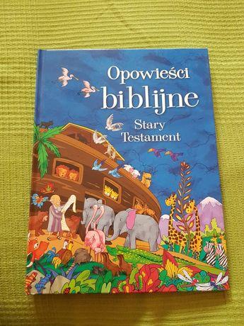 """Książka dla dzieci """"Opowieści biblijne Stary testament"""""""