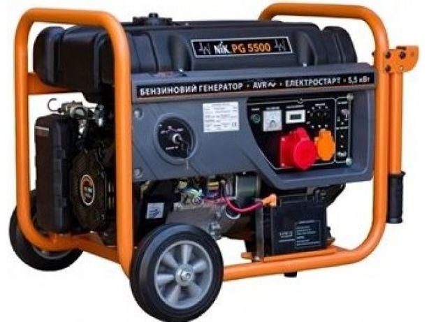 Бензиновый генератор NIK PG 5500 новый
