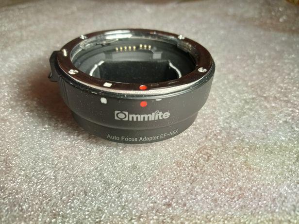 Перехідник адаптер Commlite EF-E mount Canon-Sony