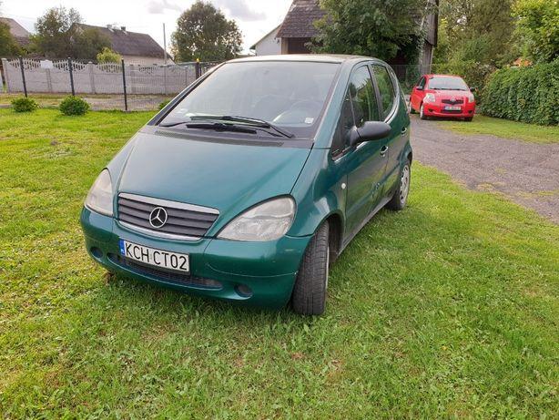 Mercedes Benz A klasa A140 W168 SPRAWNA KLIMA! Przebieg tylko 130tys