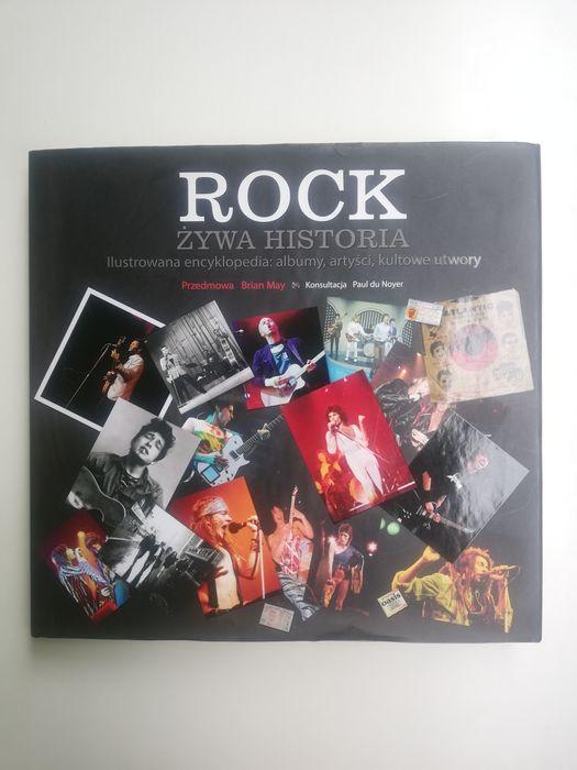 """Praca zbiorowa, Brian May """"Rock. Żywa historia."""" - encyklopedia Zielona Góra - image 1"""