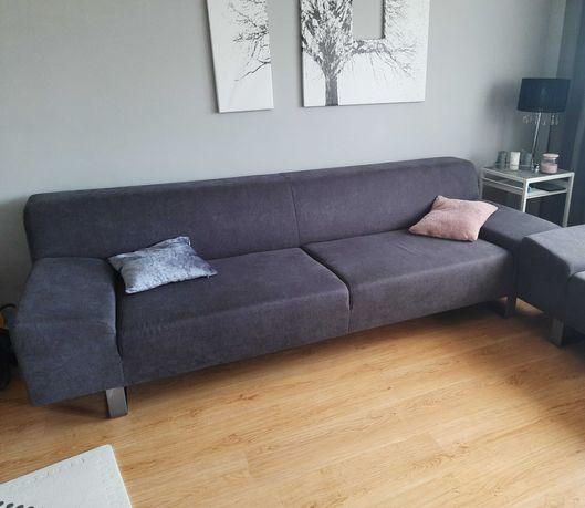Sofa 3 osobowa Agata Meble grafit grafitowa