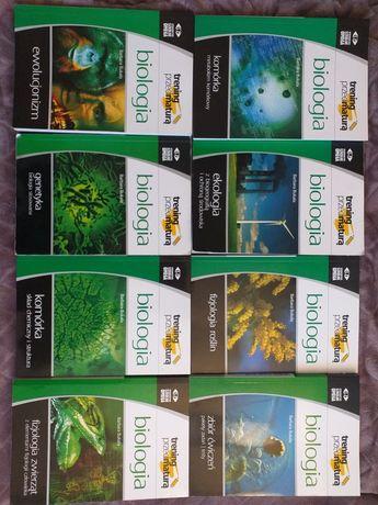 Zbiór książek do nauki biologii Omega