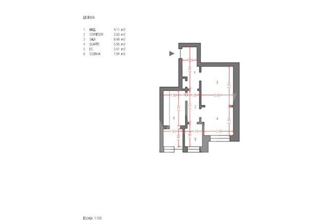 Apartamento T1 para investir em Campo de Ourique
